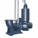 DSC型  水中渦巻斜流ポンプ  50Hz