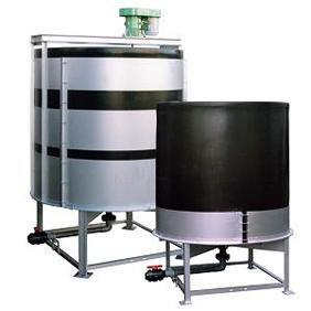 OHTタンク 開放丸型 完全液だしタイプ