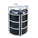 攪拌機取付架台付タンク 立型
