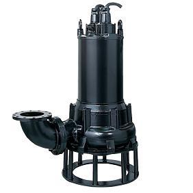 水中ハイスピンポンプ ベンド仕様 U型 6極形