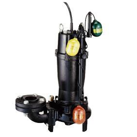 水中ハイスピンポンプ ベンド仕様 自動交互形 UW型 4極形
