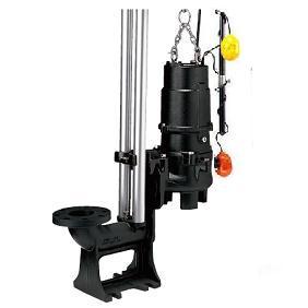 水中ハイスピンポンプ 着脱装置仕様 自動形 UA型 2極形