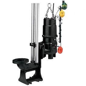 水中ハイスピンポンプ 着脱装置仕様 自動交互形 UW型 2極形