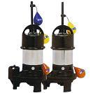 高機能樹脂製水中ポンプ  NEXUSシリーズ(SCRSフランジタイプ 自動交互運転形  50Hz)