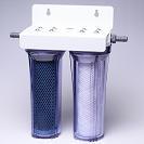 フィルターカートリッジ 糸巻き・活性炭フィルター2連タイプ